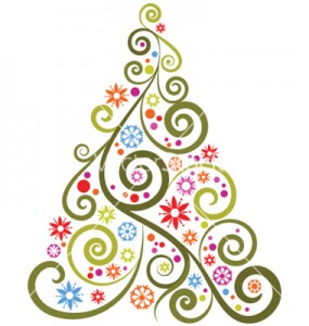 abstract-christmas-tree-vector-119287